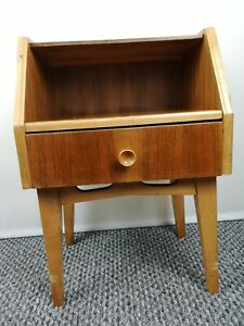 Vintage Retro Sideboard Wooden Unit With Drawer