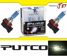 Putco 3800K Iron White H8 230008SW 35W Two Bulbs Fog Light Replacement Plug Play