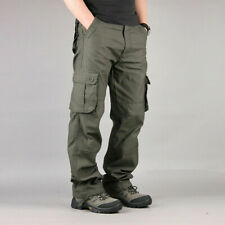 Men's Flex Stretch Hiking Cargo Work Outdoor Operator Rip-Stop Trouser Pants