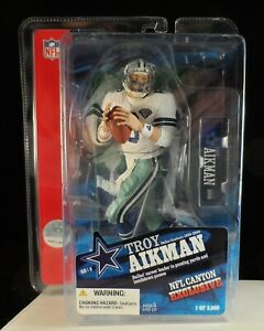 2006 McFarlane Troy Aikman Dallas Cowboys HoF Exclusive Figure - Only 3,000 Made