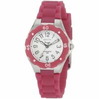 Invicta Women's 1614 Angel White Dial Plum Silicone Watch