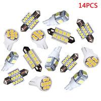 14Stk Auto LED Innenraumbeleuchtung Set T10 & 31mm 41mm Glühbirnen Canbu YTM