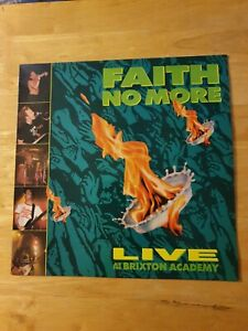 Faith No More Live At Brixton Academy 1990 UK First Pressing