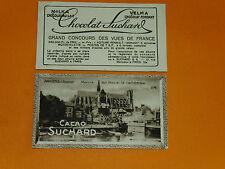 CHROMO PHOTO CHOCOLAT SUCHARD 1928 FRANCE AMIENS Marché sur l'eau SOMME