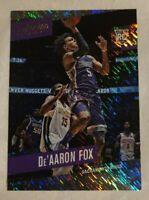 2017-18 Panini Prestige De'Aaron Fox Rookie #155 Rain Variant! Sacramento Kings