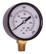 Baker LVBNA-300P Pressure Gauge, 0-300 PSI