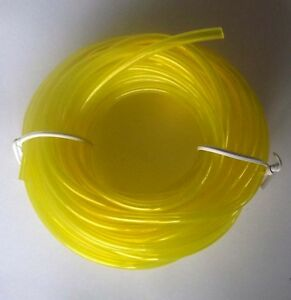 Fuel line for mowers chainsaws trimmers 9 SIZES 3mm 4.8mm 5mm 5.5mm 6mm 8mm ++