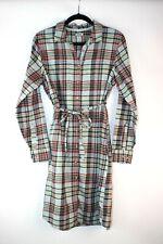 LL Bean Women's 12 Plaid Flannel Dress