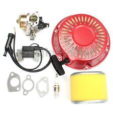 Recoil Filter Carburetor Ignition Coil Plug Kit For Honda GX340 11HP GX390 13HP