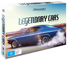 DISCOVERY CHANNEL LEGENDARY CARS BRAND NEW SEALED REGION 4 DVD BOXSET
