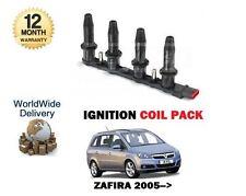 Para Opel Opel Zafira 1.6 I 1.8 i 4/2004 - & gton Bobina De Encendido Pack Completo