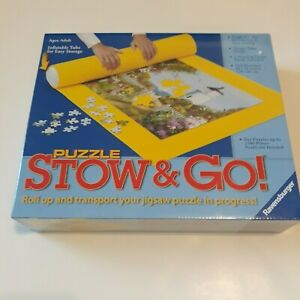 Ravensburger Stow & Go Puzzle Mat for up to 1500 piece puzzle. Factory Sealed