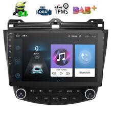 "10.1"" Autoradio Android 9.0 GPS Navi FM RCA BT DAB+ Wifi USB für Honda Accord 7"