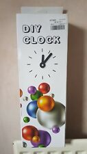 Large D I Y Clock Kit with silent clock movement