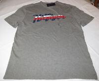 Men's Tommy Hilfiger T shirt NWT short sleeve logo XL 78B4498 035 grey heather