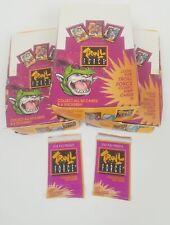 (Lot 3) 1992 Troll Force Trading Card Box – 48 Packs Each - 144 Total Packs