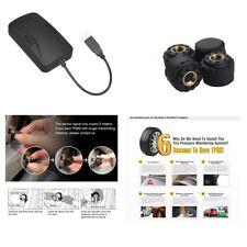 USB per Auto Pneumatico Pressione System 4 sensori esterni TPMS per Android Dvd Auto Radio