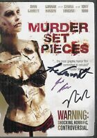 Murder Set Pieces DVD Signed By Cast Nick Palumbo
