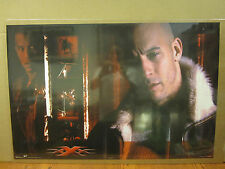 Vintage 2002 Movie poster Vin Diesel  XXX triple X action 5066