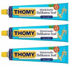 3 x THOMY - Deli Mustard - 3 x 200 ml - German Production