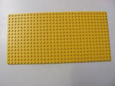 LEGO 3857 @@ Baseplate 16 x 32 (x1) @@ Plaque @@ YELLOW @@ JAUNE
