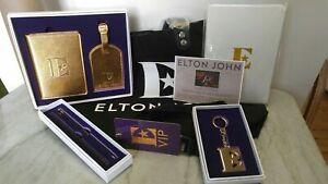 Elton John Farewell Yellow Brick Road Rocketman Gift Set Package VIP SET