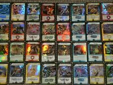 DUEL MASTERS Trading Card Game (Single Foil Chase Card Listing) Creatues Spells