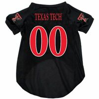 NEW TEXAS TECH UNIVERSITY RED RAIDERS DOG PET MESH JERSEY ALL SIZES LICENSED