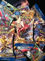 10x Pokemon TCG XY Breakpoint Blister Booster Pack Lot - NEW SEALED UNWEIGHED