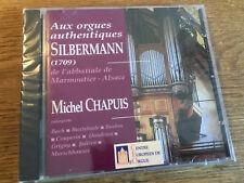 ORGUE ORGEL Silbermann [CD album] Nouveau neuf dans sa boîte MICHEL CHAPUIS BACH BUXTEHUDE Grigny
