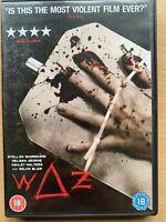 Waz DVD 2007 British Serial Killer Horror Thriller starring Tom Hardy Rare Cover