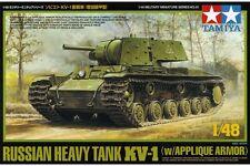 Tamiya 32545 Maquette 1/48 Heavy Tank KV-1 w/Applique Armor
