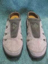 Women's COLUMBIA Tan Slip On Shoes Size USA 9.5 NON MARKING-OMNI GRIP-Not Worn!!