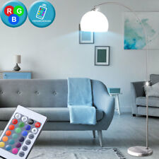 RGB LED Lámpara de Pie Salón Lámpara de lectura REGULABLE CONTROL REMOTO Big Luz