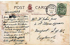 Genealogy Postcard - Family History - Jukes - Newport - Isle of Wight   544A