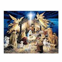 Religion Angel 5D DIY Diamond Painting Embroidery Mosaic Stitch Decor Cross F7T5