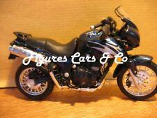 MOTO 1/18 THRIUMPH 955 TIGER BLEU MAISTO