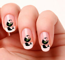20 Adesivi Unghie Nail Art Decalcomanie #386 - Panda Just peeling & stick