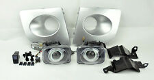 48W Silver JDM Projector Halo Fog Lights w/ Covers FITS Subaru Impreza/WRX 06-07