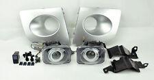 48W Silver JDM Projector Halo Fog Lights w/ Covers FITS Subaru Impreza/WRX 06-07