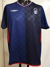 NOTTINGHAM FOREST BOYS 2009/10 S/S AWAY SHIRT BY UMBRO SIZE EXTRA SMALL BOYS
