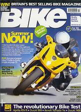 Bike July 04 Ducati 749S 999 Rossi R1 Aprilia RSV-R Benelli Tornado Tre