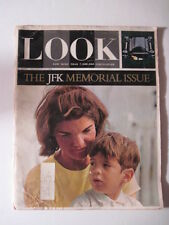 LOOK Magazine, November 17, 1964. JFK Memorial Issue! President John F. Kennedy!