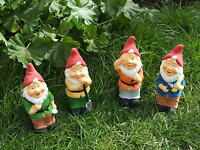 LATEX MOULD/MOULDS/MOLDS    4 X 8 INCHGARDEN  GNOME SET. (2017)