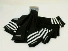 NWT ADIDAS Aeoready Size 6-12 Black / White / Gray High Quarter Ankle Mens Socks