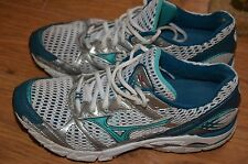 mizuno wave rider 14 womens athletic shoes size 8.5 W