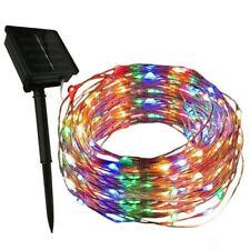 50/100/200LED Outdoor Solar Power String Light Garden Christmas Fairy Party Lamp