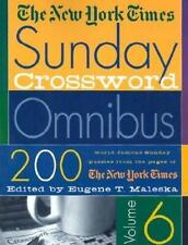 Sunday Crossword Vol. 6 by New York Times Staff (2002, Paperback, Revised)