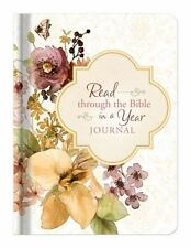 Read Through The Bible In A Year Journal NEW  Free Gift
