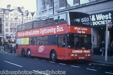 London Pride Sightseeing Metroliner London Bus Photo view 2